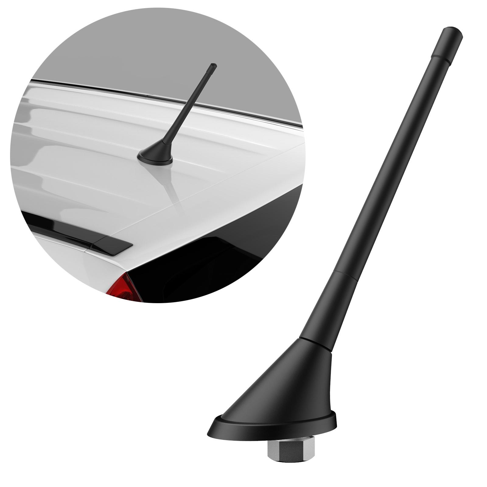 RADIO VW AUDI DACH-ANTENNE GPS FM Antennenfuss 40cm Verstärker DIN Kabel Adapter