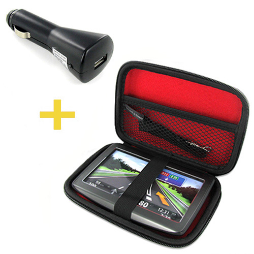TASCHE//CASE NETZTEIL USB ADAPTER Becker READY 50 EU 19 20 LMU ICE EU19 PLUS 70